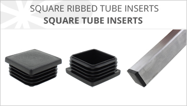 SQUARE RIBBED TUBE INSERTS